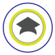 Valencia Tutors Learning Center logo with graduation cap
