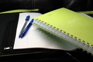 School notes notebook