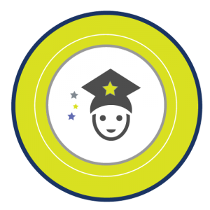 Valencia Tutors logo with elementary graduation icon