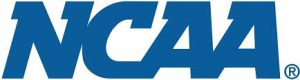 NCAA The National Collegiate Athletic Association logo for student athletes that compete in NCAA Division I, NCAA Division II, NCAA Division III